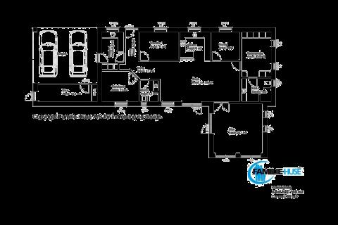 Plantegning for Model 168-50